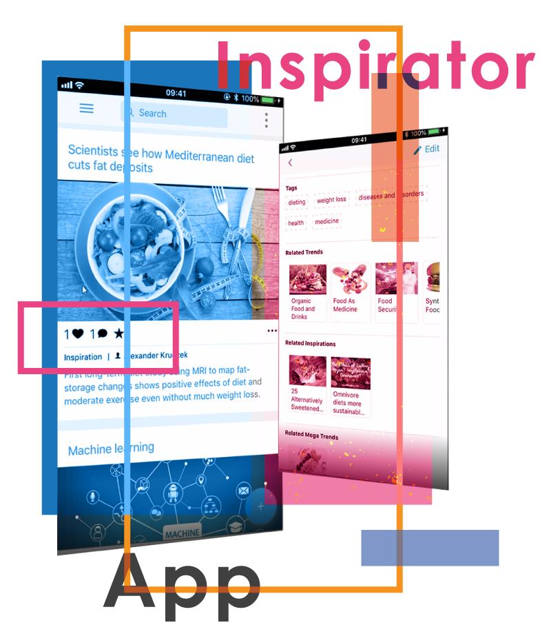 Inspirator App - Ideenmanagement & innovative Impulse sammeln