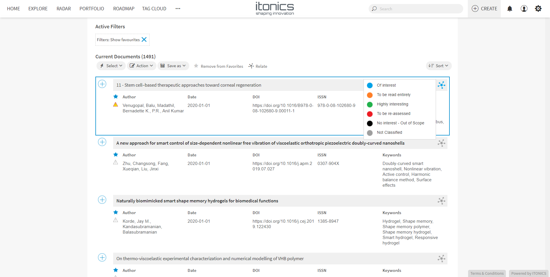 ITONICS-Scout_Collaboration