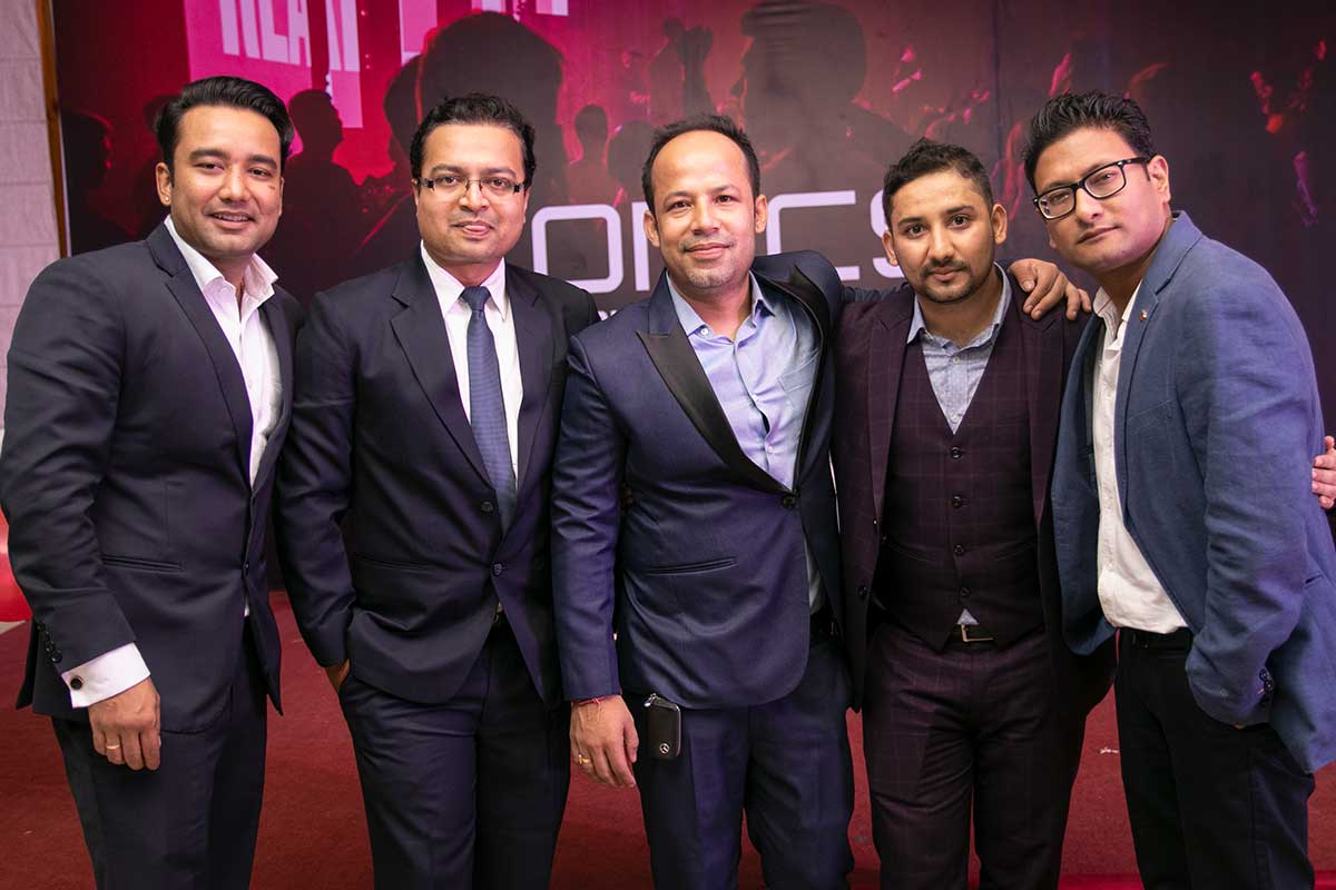 Dashain Party bei ITONICS Nepal