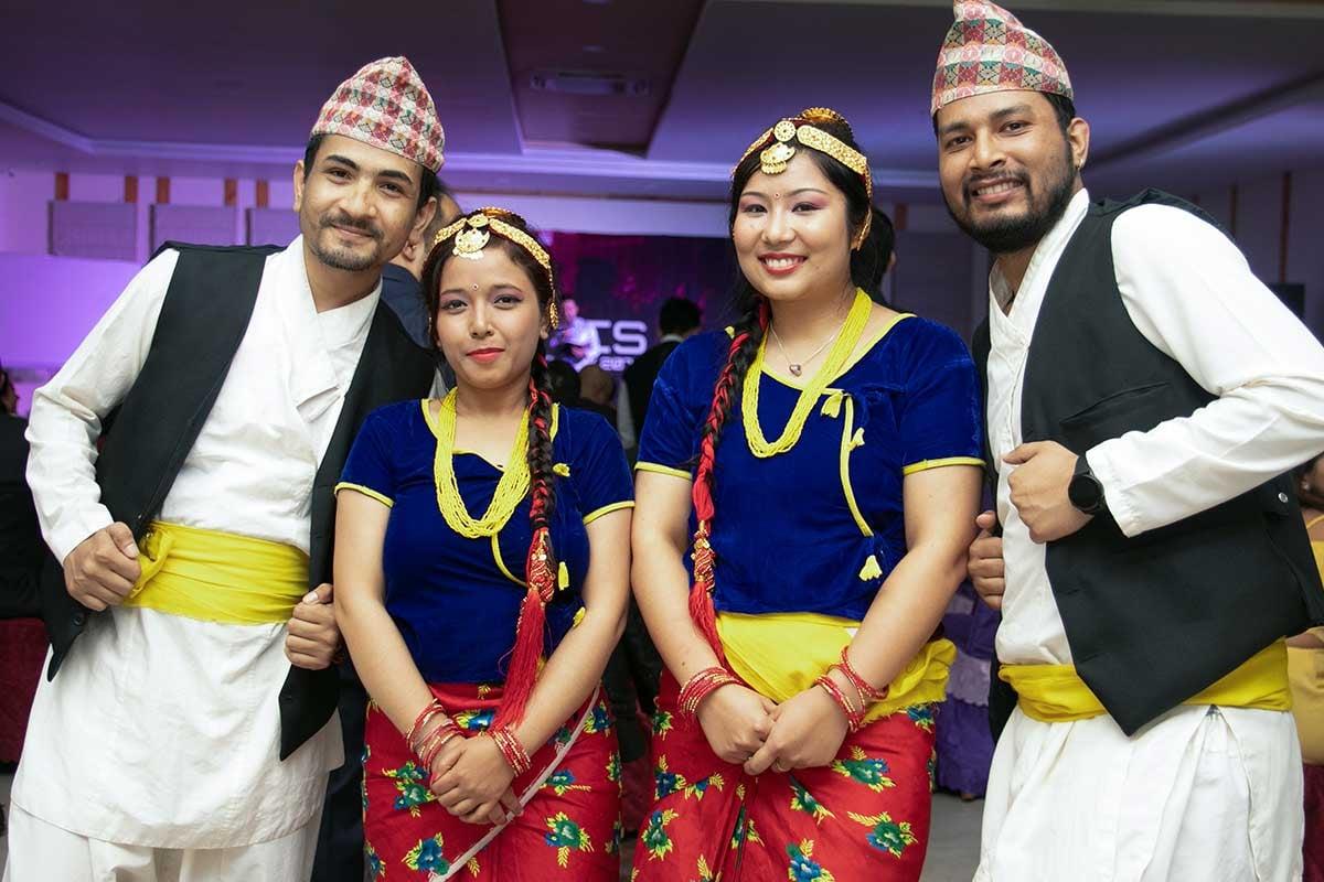 Tanzeinlage bei der ITONICS Dashain Party